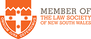 Member of NSW Law Society
